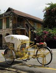 Penang Heritage - Trishaw