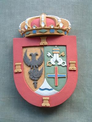 escudo policromado de todas las regiones de espanya