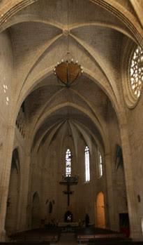 boveda iglesia de valderrobres