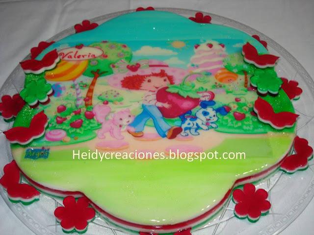 TORTAS Y GELATINAS DE FRESITA - Imagui