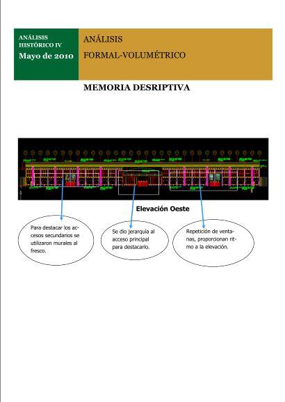 Arquitectura de confort memoria descriptiva for Memoria descriptiva arquitectura