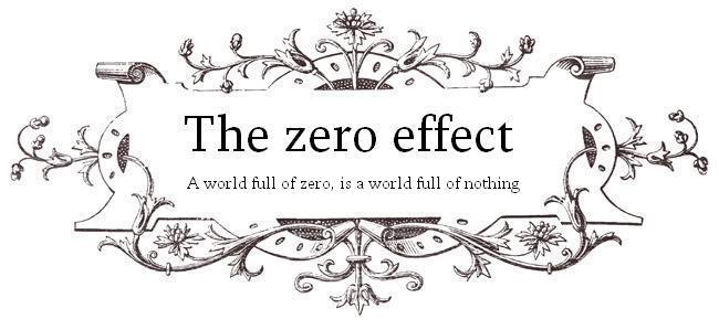 The  zero  effect
