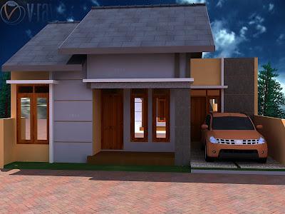 rumah minimalis type 45 on HUNIAN NYAMAN BAGI PEMILIKNYA: Rumah type 45