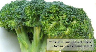 Brokuły - właściwości i składniki odżywcze: