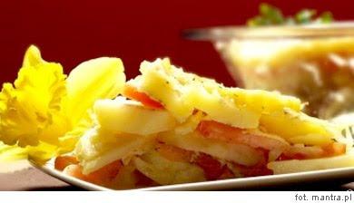 Przepis na wegetariańską zapiekankę z ziemniaków