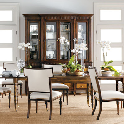 Dining Tables  Chairs on Christiansen Dining Table Drake Cabinet Eva Side Chairs By Alexa