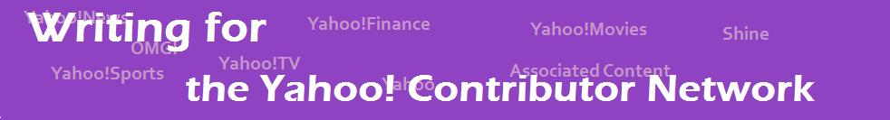 Writing for the Yahoo! Contributor Network