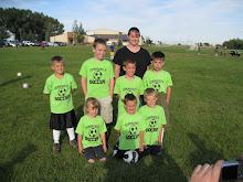 Ethan' soccer team