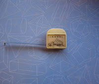 Vintage Holographic Tape Measure
