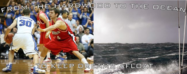 From the hardwood to the ocean