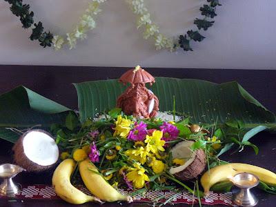 Kitchen Flavors: Vinayaka Chavithi