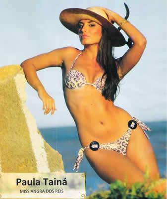 Paula Tainá - Miss Angra 2010
