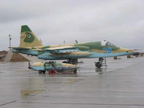 Armée du Turkménistan / The Armed Forces of Turkmenistan Turkmen Su-25KM
