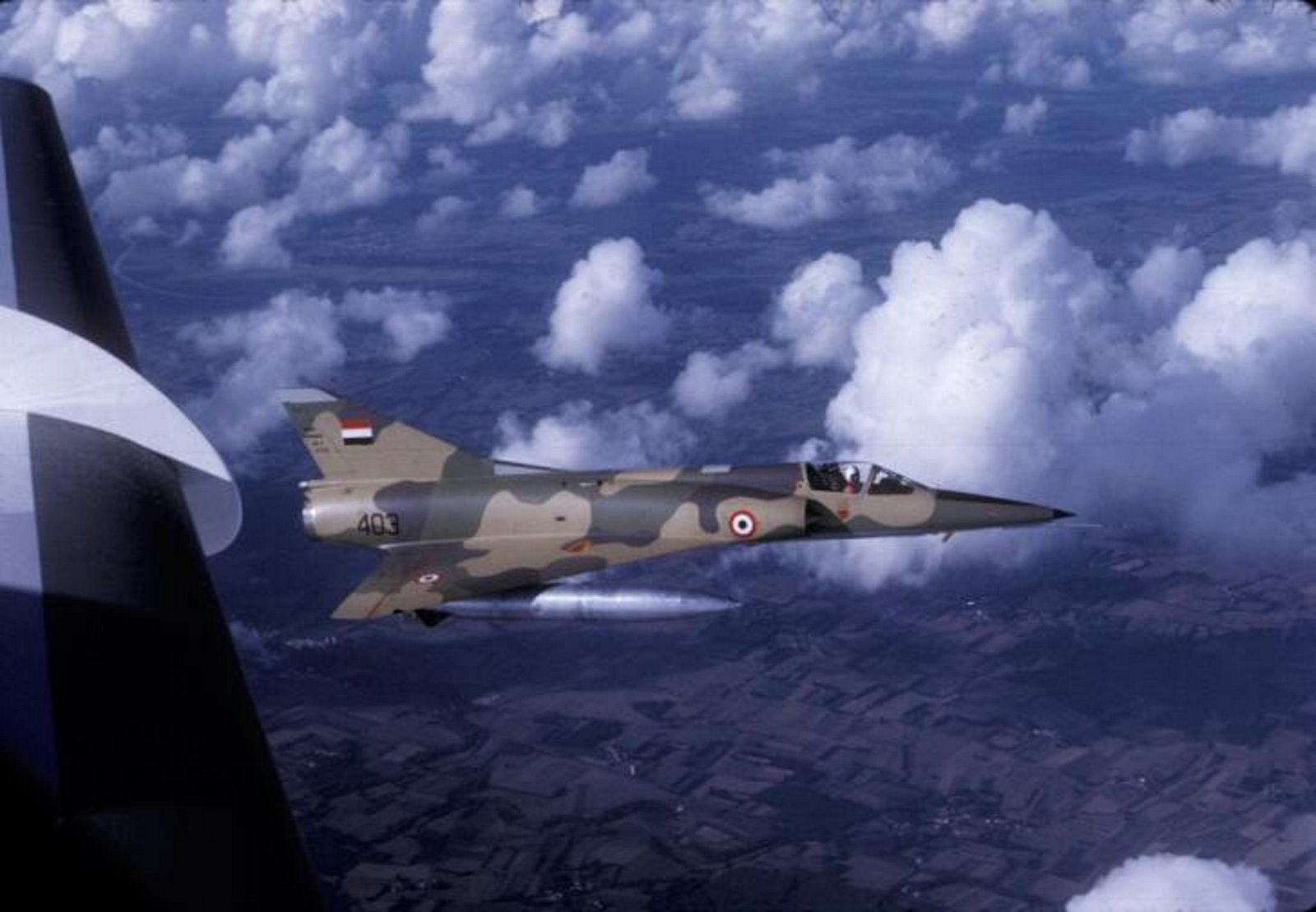 Armée Libyenne/Libyan Armed Forces - Page 13 MIRAGE%2B5D%2B403%2BLIBIA%2B1971