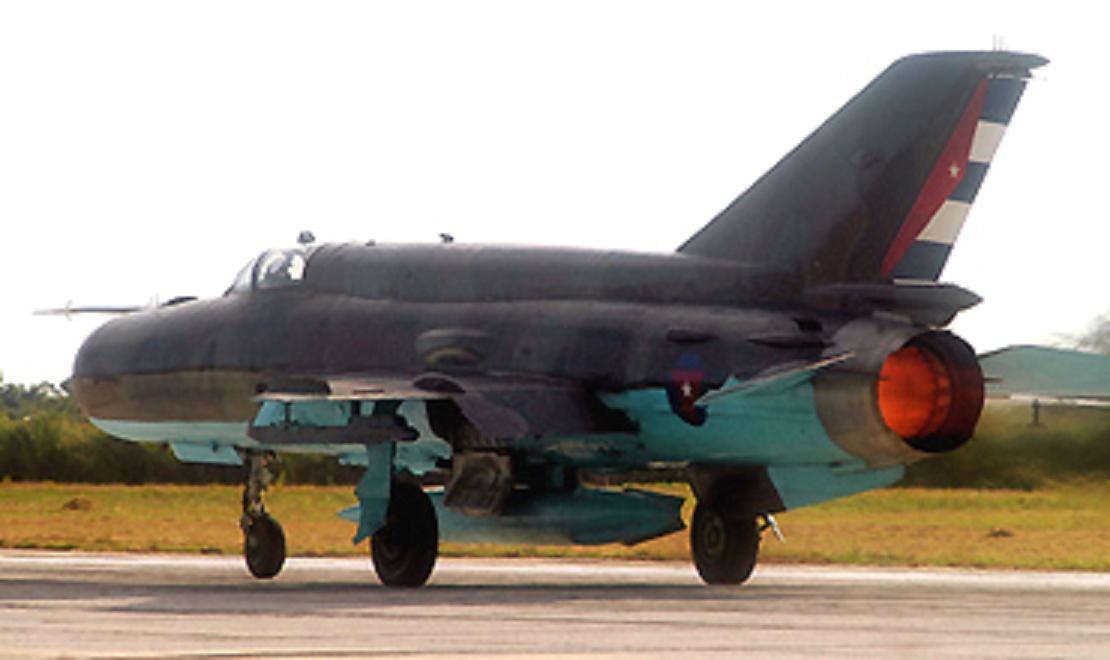 Armée Cubaine / Cuban Revolutionary Armed Forces MIG-21BIS%2B664%2BCUBANO%2B2