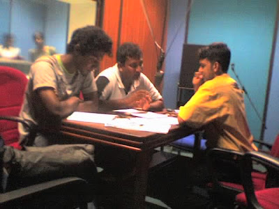 Taru Widu Saraniya radio program on astronomy, onair Recording