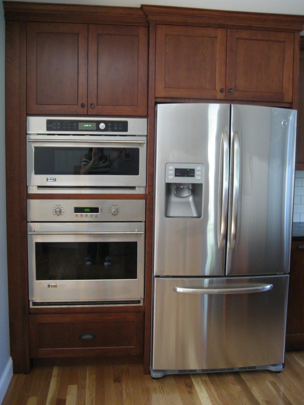 Fridge Oven Placement Idea Nokomis Kitchen Pinterest