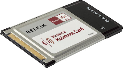 Wireless G Notebook Card