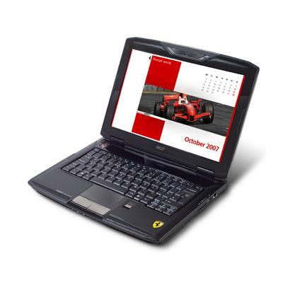 acer ferrari 1100 laptop notebook