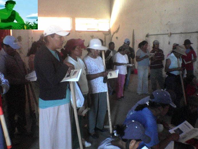 CAPACITACION EN COMUNIDADES DE AMEALCO