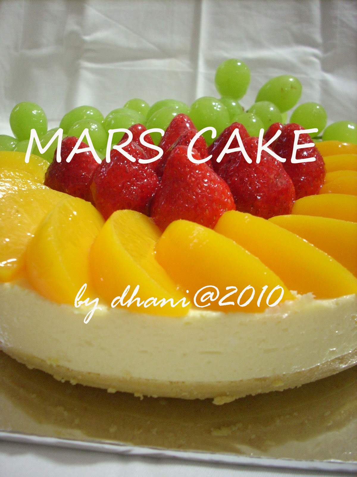 Mars Cake D H Marsstrawberry 2010 Brownies Kopi Aceh Varian By Tira Nad Fruit Cheese Lidia