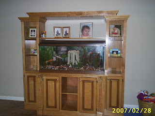 crowder 39 s custom creations fish aquarium stand