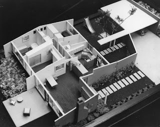 gregory ain - altadena - park planned homes - unpublished architectural scale model 2