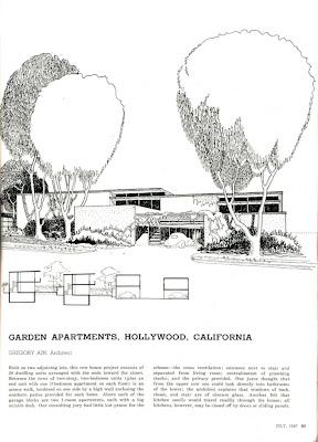 gregory ain altadena - park planned homes - progressive architecture 3