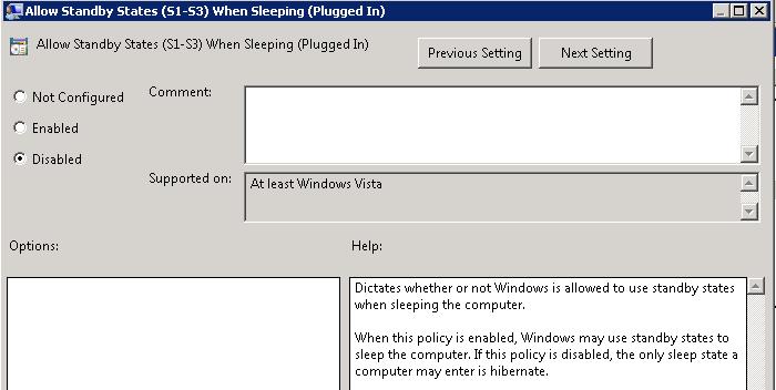 how to add hibernate to start menu windows 7