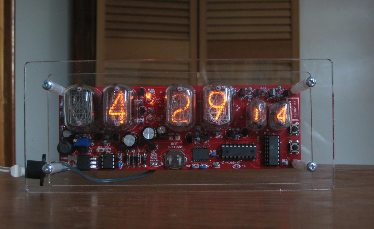 Wise time with arduino nixie clock