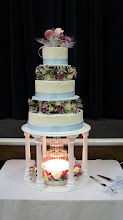 Jason and Katies wedding cake