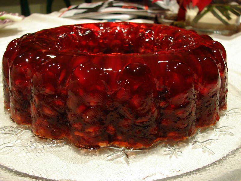 Pomegranate Jello