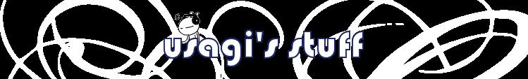 Usagi's Stuff