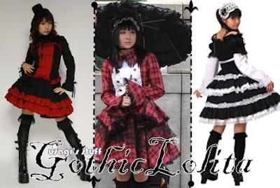 Goth Fashion Dolls on Usagi S Stuff  Japan Street Fashion