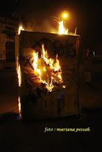 a queima do clóset