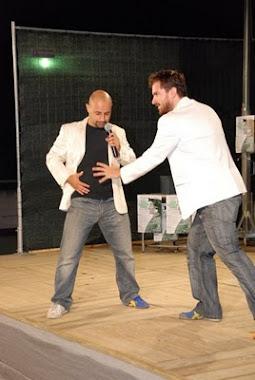 Noidellescarpediverse nelle vesti di presentatori dell'edizione 2008