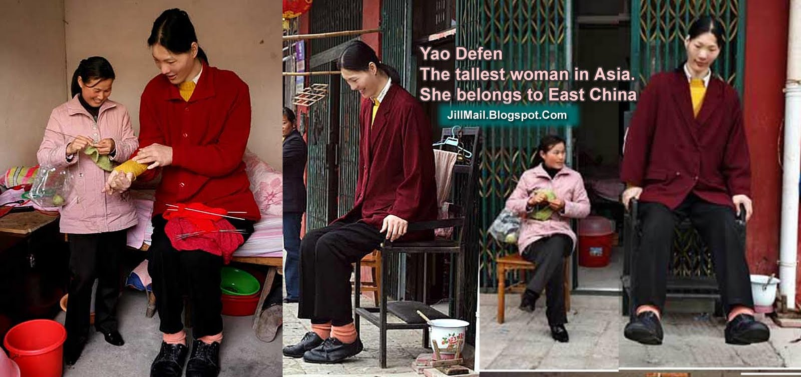 tallest woman in the world