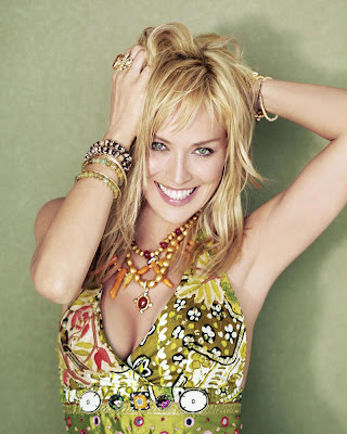 Sharon Stone in Artistic Nature Fashion Style Model Photoshoot Session