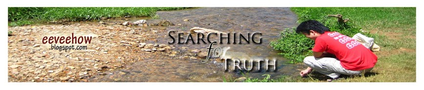 eeveehow, searching for truth