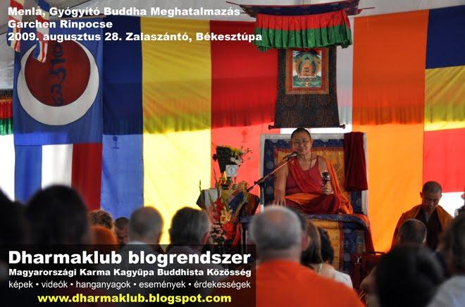 Garchen Rinpocse 2009 Zalaszántó