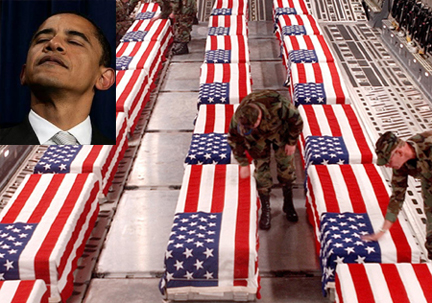 Families ask obama not to show caskets of soldiers