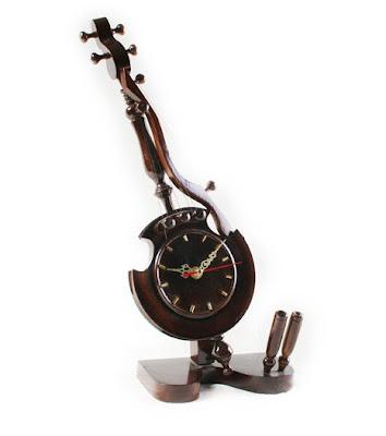 Antique wood Handicraft hours, antique handicraft, wood handicraft
