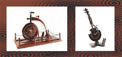 Antique wood Handicraft hours, antique handicraft