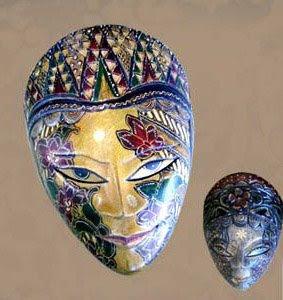 Wooden Batik Art of Natural Handicraft