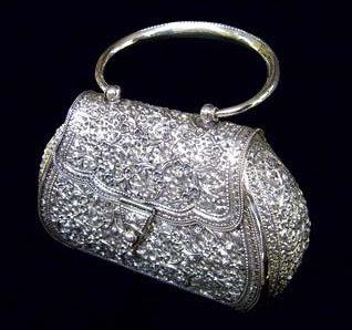 Antique Silver Handbag_001