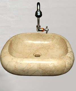 Antique sink for equipment  bathroom