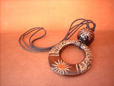 Antique Necklace Bali Handicrafts #1, wood handicraft, antique handicraft, handicraft design