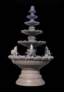 Water Lilies Fountain Story,water fountain, stone handicraft