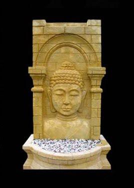 Buddha Water Fountain in Palace, water fountain, garden ornament, stone handicraft