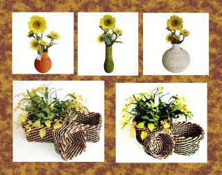 Vase Flowers Natural Ingredients